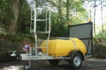 1000 Litre Highway Towable Plastic Plant Waterer