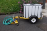 1000 Litre Water Bowser with Pressure Sensor Pump