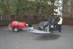 Petrol Engine Pressure Washer Bowser