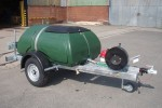 Plastic Towable Water Bowser with Spraying System