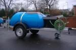 Plastic Water Bowser with 240V Pressure Sensor Pump Set