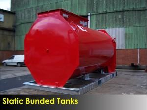 STATIC BUNDED TANK